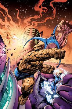 Fantastic Four by Alan Davis *
