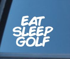 Excited to share this item from my #etsy shop: Eat Sleep Golf vinyl decal, Eat Sleep Golf sticker, golf decal, golf sticker, golfer gift, golf, golfer decal, golfer sticker, golf gear Types Of Organisation, Funny Cups, Gifts For Golfers, Auto Glass, Stars Then And Now, Eat Sleep, Simple Designs, Free Gifts, Vinyl Decals