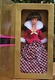 MATTEL barbie poupée brune TERESA robe de bal rose et noi... https://www.amazon.fr/dp/B000NLCBC6/ref=cm_sw_r_pi_dp_x_RBbnzb1BFJ4QC