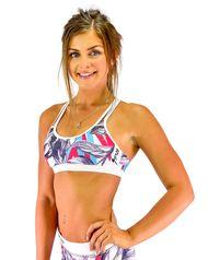 Womens Sports Bra - Island - Aqua