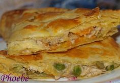 Daddy Cool!: Πιτάκια με κοτόπουλο Chef Recipes, Greek Recipes, Cooking Recipes, Finger Food Appetizers, Finger Foods, Delicious Dinner Recipes, Yummy Food, Greek Pastries, Macedonian Food
