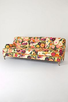 floral sofa from anthro #FlowerShop    Do we get to win whatever we pin?! Please say yes!!!!!!!