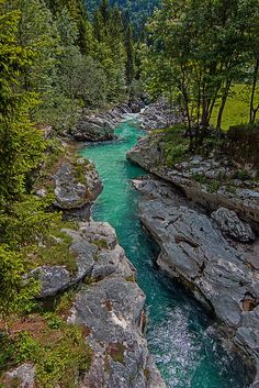Emerald beauty, Soca river, Slovenia