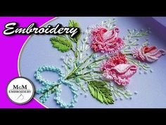 Handcrafting a satin stitch flower embroidery may well be a lost art in the near future. However, this is a skill that anyone can practice and learn and make beautiful embroidery handpieces for all occasions. Brazilian Embroidery Stitches, Types Of Embroidery, Simple Embroidery, Learn Embroidery, Rose Embroidery, Embroidery For Beginners, Embroidery Techniques, Embroidery Kits, Embroidery Designs