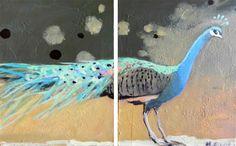 Peafowl by Mary Pratt Mary Pratt, Peacock Painting, Art For Sale Online, Peafowl, Peacocks, Stuffing, Awesome Art, Online Art Gallery, Art Education