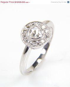 Diamond Ring - Antique Style g