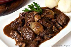 Julia Child's Beef Bourguignon (+ some chocolate)