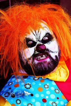 Evil clown www.ahbweddingandevents.com