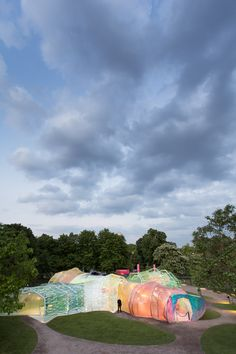 SelgasCano's Serpentine Pavilion / Images by Laurian Ghinitoiu