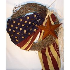 I have an old American flag and I will be making this soon! I think it will look better at your house - what do you think?