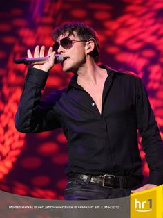 Morten Harket from a-ha played a great concert in Frankfurt,Germany on May 3rd. If you click on the Pin, you will see a lot more beatiful pictures of Morten!