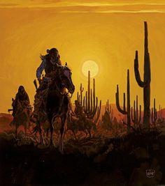 Jean Giraud (Moebius), Navajos