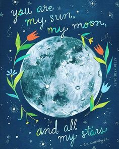 In love with this today✨Tag those who are your moon & stars.