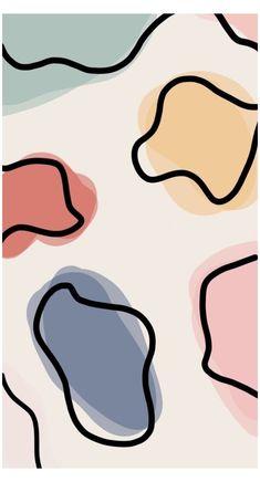 Hippie Wallpaper, Print Wallpaper, Pastel Wallpaper, Kawaii Wallpaper, Beste Iphone Wallpaper, Iphone Background Wallpaper, Cute Patterns Wallpaper, Pattern Wallpaper Iphone, Iphone Wallpaper Tumblr Aesthetic