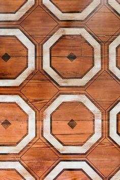 Hardwood Floor Paint Ideas - Patterns, Stencil   Apartment Therapy