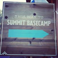 Base camp sign