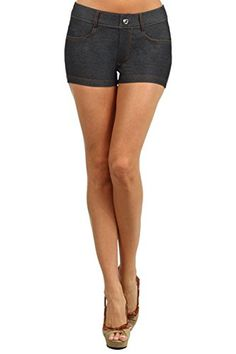 Fashion Mic Womens Casual Summer Cotton Blend Stretchy Shorts * Check out the image by visiting the link.