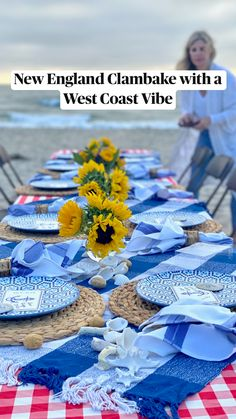Beach party ideas Summer Party Themes, Summer Parties, Beach Picnic, Beach Party, Al Fresco Dinner, Steamed Clams, Clam Recipes, Dinner Party Menu, Shellfish Recipes