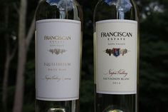 Franciscan Estate Equilibrium and Sauvignon Blanc - A 2 for 1 Review!  http://www.honestwinereviews.com/2015/07/franciscan-estate-wine.html #wine