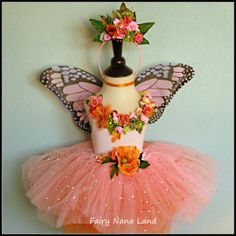 butterfly leotard | BUTTERFLY FAIRY costume - fits children sizes 4 - 6 Halloween ...