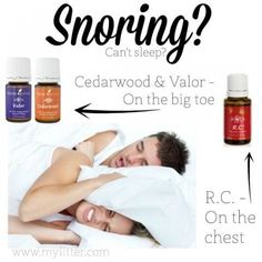 Young Living Snoring Essential Oils