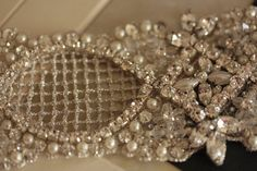 Bridal Hair Piece Vintage Inspired  Netto Hairpiece by MillieICARO, $218.00