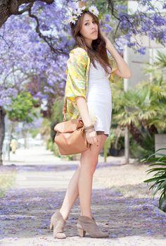 outfit #streetstyle #california #kimono #summer