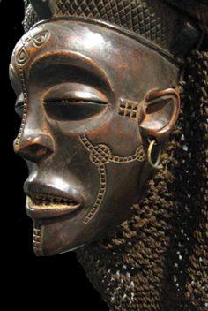 Tchokwe (Chokwe) Pwo Mask - LSO.206 Origin: Angola/Congo Circa: 1850 AD to 1930 AD