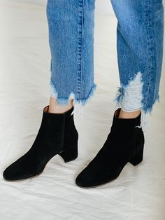 ATP ATELIER | Mel Ankle Boot in Black Suede | The UNDONE by ATP Atelier