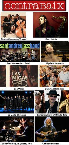 Cicle de concerts gener-abril 2014 de la xarxa ContraBaix