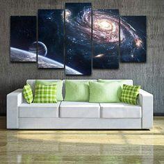 Univers observatoire toile murale art photo print decor grandes tailles disponibles