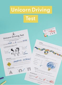Help your little one get the best out of their unicorn with our hilariously silly (and highly official) driving test and have some fun along the way! Play Ideas, Have Some Fun, Driving Test, Kids Playing, Activities For Kids, Unicorn, Hilarious, Child, Park