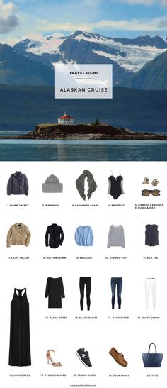 what to pack for an alaskcan cruise includes shoppable packing list and 12 outfits to