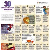 30 Tactics to Outsmart Your Unhealthy Temptations