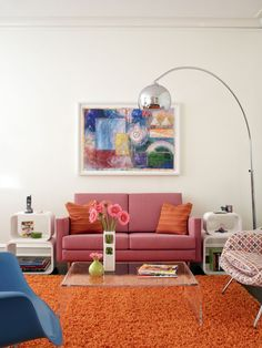 Vintage Contemporary Living Room Awesome Retro Living Room Ideas and Decor Inspirations for the Living Room Interior, Interior Design Living Room, Living Room Designs, Living Room Decor, Bedroom Decor, Dining Room, Interior Modern, Dining Chairs, Décoration Mid Century