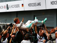Claiming his second consecutive victory, and seventh of the season, Nico Rosberg…