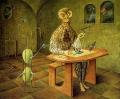Remedios Varo - Creation of the Birds (1957)