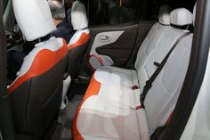 2015 Jeep Renegade Limited Interior Rear Seat Photo