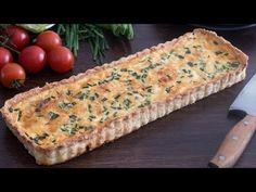 Trendi tavaszi francia lepény: omlós tészta gazdag feltéttel   Femcafe