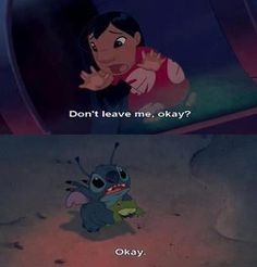 lilo and stich  Best friends