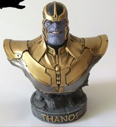 Thanos Guardians of the Galaxy Bust Avengers Infinity Statue Marvel spiderman | eBay