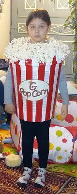 Carnevale - DIY costume da pop corn