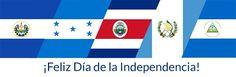 Hechos Hispanos: 5 países celebran hoy su Independencia ¡Felicidades Costa Rica, El Salvador, Guatemala, Honduras y Nicaragua!