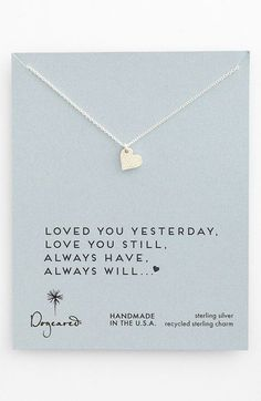 Dainty Sweet Love Heart Necklace