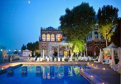 Hotel Excelsior Venice Lido Resort, 5 star hotel in Venice, Italy Venice Lido, Venice Beach, Venice Italy, Versailles, Hotel Secrets, Hotels And Resorts, Beach Hotels, Luxury Travel, Italy Travel