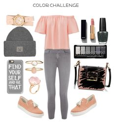 """""""Untitled #12"""" by shy-valentine ❤ liked on Polyvore featuring L'Agence, Rebecca Taylor, Donald J Pliner, OPI, Lanvin, Michele, Chanel, Casetify, Acne Studios and Accessorize"""
