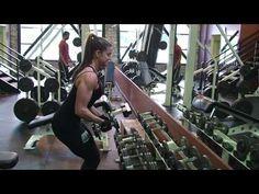 Shoulder Exercise - Lateral Raise Drop Set - Diana Chaloux