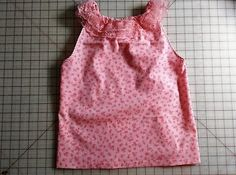 Pink Summer Top, size 5-6