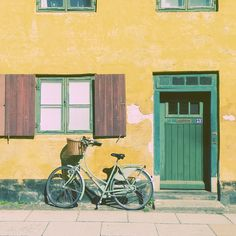 the silence of the streets in Copenhagen