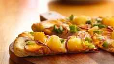 Canadian Bacon and Pineapple Pizza...uses Pillsbury® Classic or Thin Pizza Crust